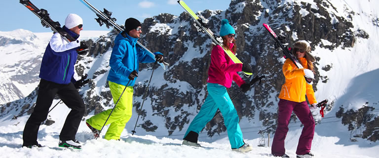 Ski rental discount up to 50%