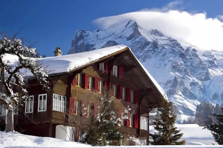 chalet wintersport